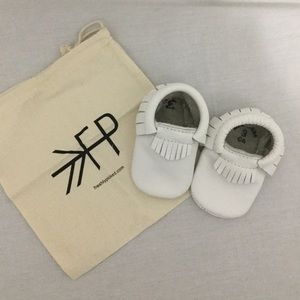 Freshly Picked Moccasin White Size 3 New